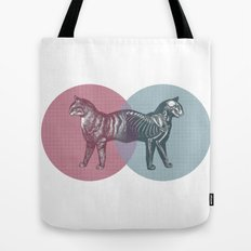 In which the cat is dead and alive Tote Bag