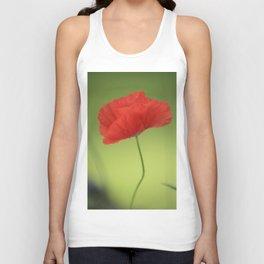 Poppy Love Red Poppy Flower #decor #society6 Unisex Tank Top