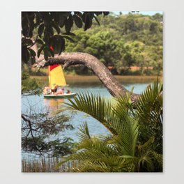 Tropical Style Canvas Print