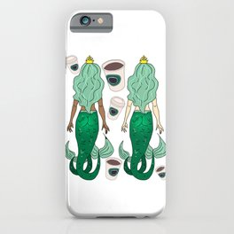 Star Butts Mermaids Coffee iPhone Case