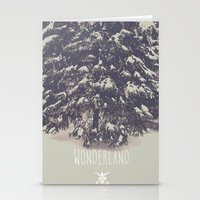 wonderland Stationery Cards featuring Wonderland by Christine VanFonda