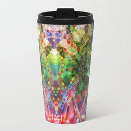 Floral Diving Travel Mug