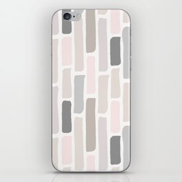 Soft Pastels Composition 1 iPhone Skin