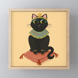 Queen Cleocatra Framed Mini Art Print