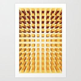 Optic Collusion  Art Print