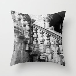Sponza Palace Stairs Throw Pillow