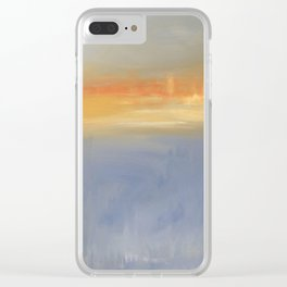 FiRE iSLAND Clear iPhone Case