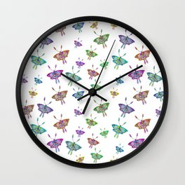 Butterfly Jungle Wall Clock