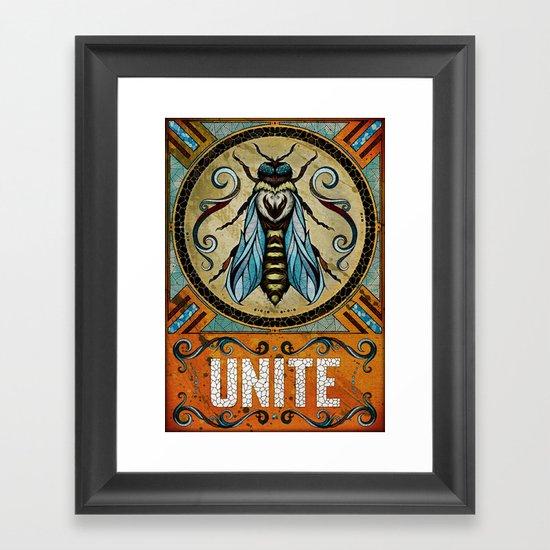 Unite Framed Art Print