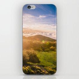 Sunset over Madeira iPhone Skin