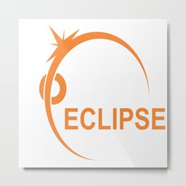 The Great American Eclipse Metal Print