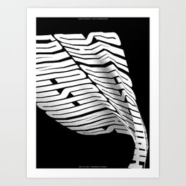 San Francisco(s): Constantly Windy, Version 2 (May 23, 2017) Art Print