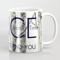 ouat Mugs featuring Once Upon a Time (OUAT)  by Canis Picta