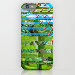 Landscape of My Heart (segment 2) iPhone Case