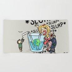 Slurp Beach Towel