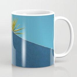 Cactus blue white Coffee Mug