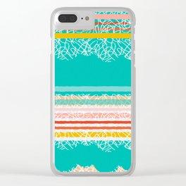 paper beach Clear iPhone Case