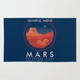 Mars adventure camp Rug