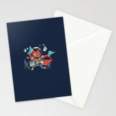 Bounty Hunter Space Cat Killa Stationery Cards