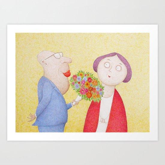 I Know You Still Love Me.... Art Print