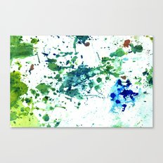 fish ink Canvas Print