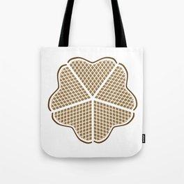 Norwegian Waffle Tote Bag