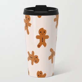 Gingerbread Men Travel Mug