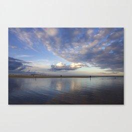 Last Linger  sunset Canvas Print