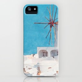 Mediterranean journey-Santorini iPhone Case