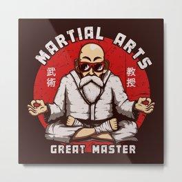 Great Master Metal Print