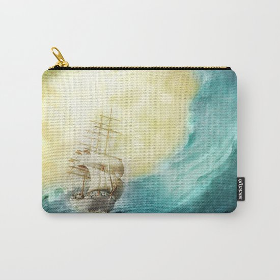 Through Stormy Waters Carry-All Pouch