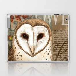 The Barn Owl Journal Laptop & iPad Skin