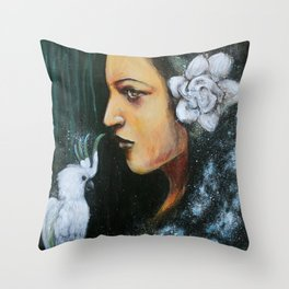 Song of Nature Throw Pillow