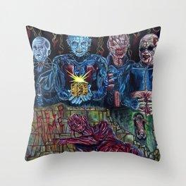 Hellraiser Throw Pillow