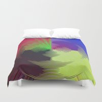 record Duvet Covers featuring Global Record by writingoverashes