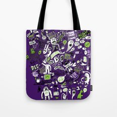 Print Brigade Collage Tote Bag