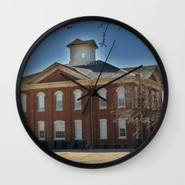Cherokee Nation - Capitol in Tahlequah, No. 3 of 3 Wall Clock