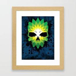 BP Death Framed Art Print