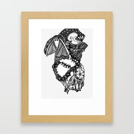 Laughter (abstract) Framed Art Print