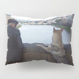 On the Ponte Vecchio, Florence Pillow Sham