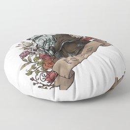 Old Wolf Floor Pillow