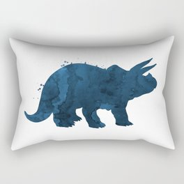 Triceratops Rectangular Pillow