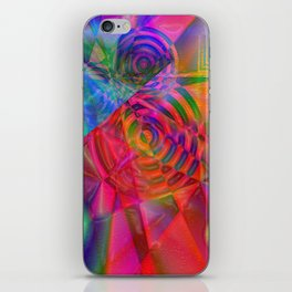 """"""" The energy is the enjoyment universal """" iPhone Skin"""