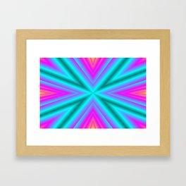 Magic of colors Framed Art Print