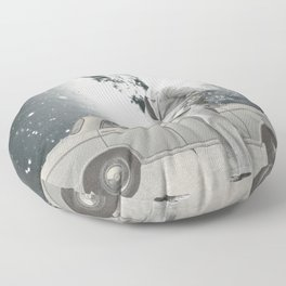 The lonely Floor Pillow