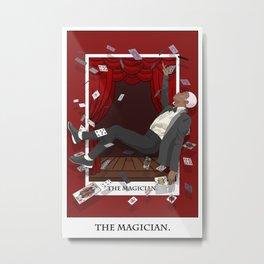 The Magician Tarot Metal Print