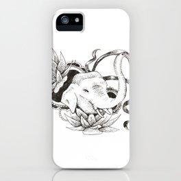 Lotus Elephant iPhone Case
