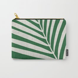 Minimalist Palm Leaf Carry-All Pouch