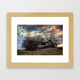 The Old Stone House Framed Art Print