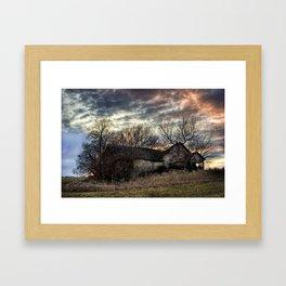 The Old Stone House Framed Art Print